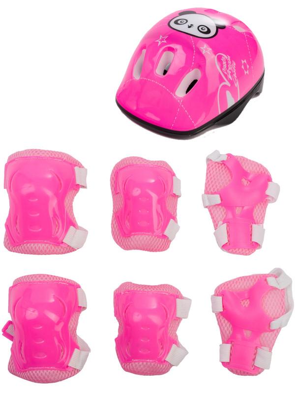 Комплект защиты Sxride JHT01 5-15 лет Panda Pink JHT01PNK01