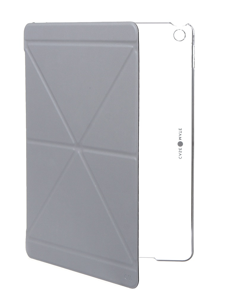 Фото - Чехол Case-Mate для APPLE iPad 10.2 (7th gen. 2019) Multi Stand Folio Light Grey CM042842 аксессуар чехол speck balance folio print для ipad 9 7 2017 bikeparts black ash grey 91503 6847