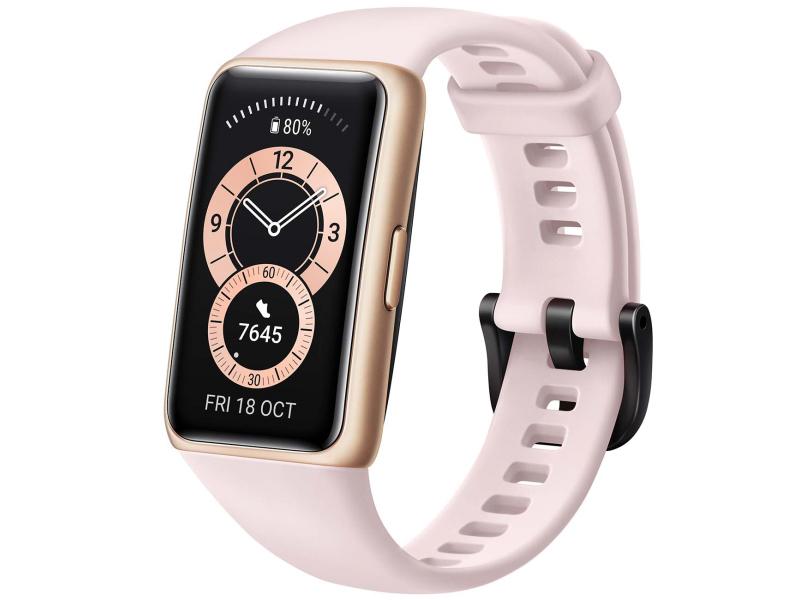 Умный браслет Huawei Band 6 Sakura Pink 55026632 Выгодный набор + серт. 200Р!!!