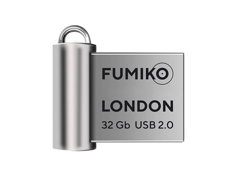 USB Flash Drive 32Gb - Fumiko London 2.0 Silver FLO-04
