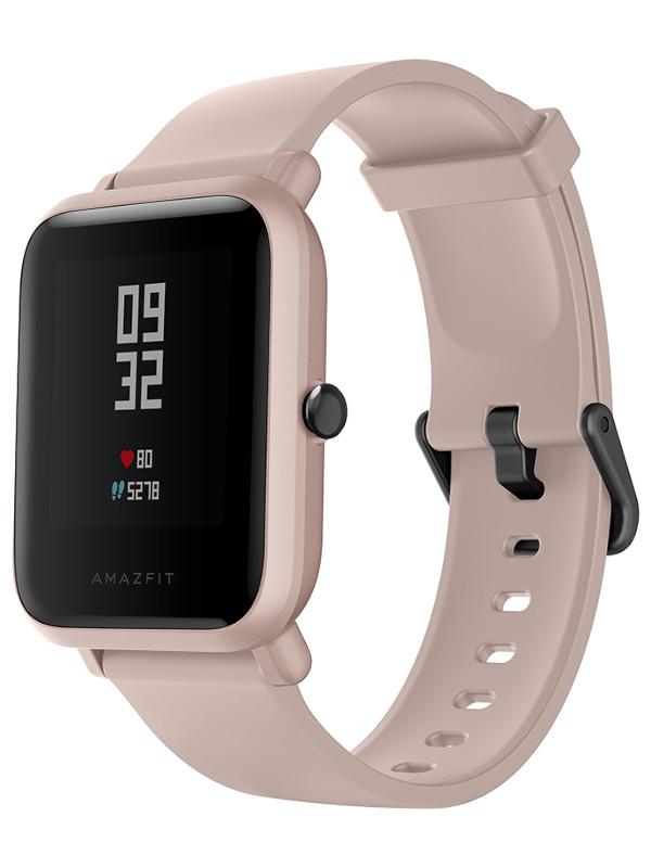 Умные часы Xiaomi Huami Amazfit Bip S Lite A1823 Sakura Pink Выгодный набор + серт. 200Р!!!
