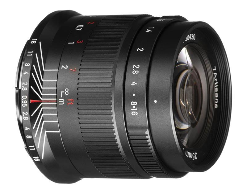 Фото - Объектив 7Artisans Nikon Z 35 mm f/0.95 23521 объектив 7artisans e mount 35 mm f 2 0 17979