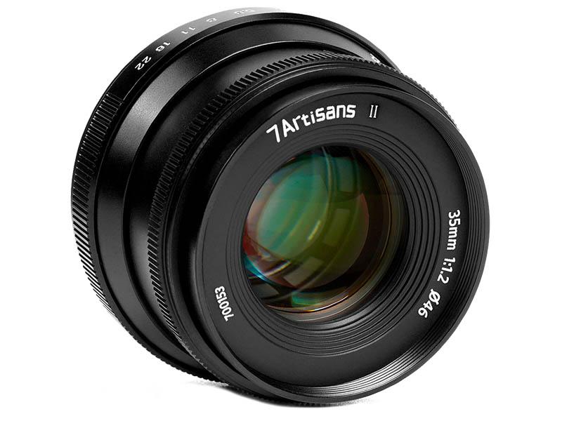 Фото - Объектив 7Artisans Micro 4/3 35 mm f/1.2 II 23525 объектив 7artisans e mount 35 mm f 2 0 17979