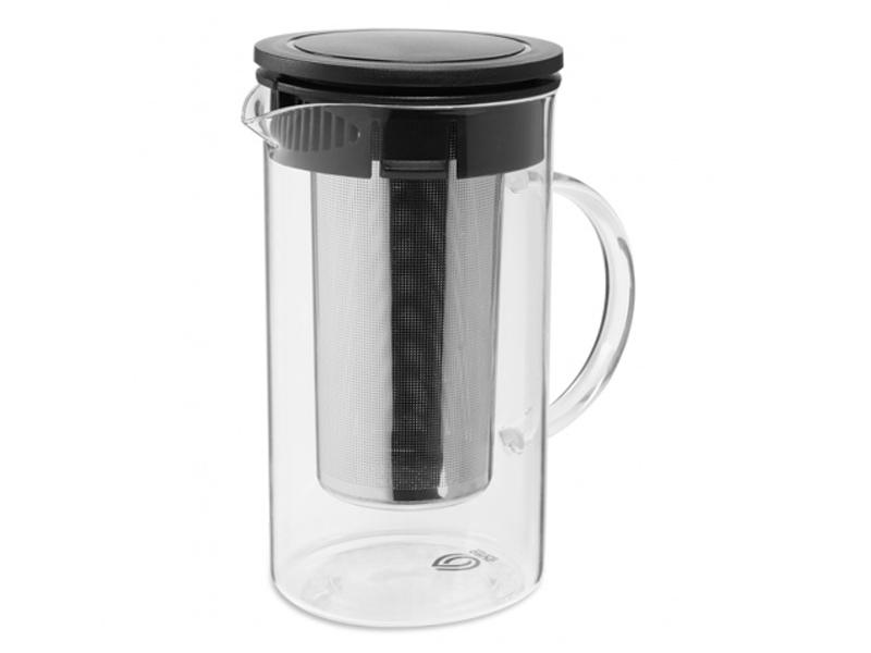 Заварочный чайник Dosh i Home Grus 1.6L с ситечком Black 500109 недорого
