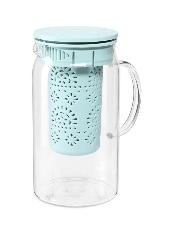 Заварочный чайник Dosh i Home Grus 1.4L с ситечком Blue 500116 недорого