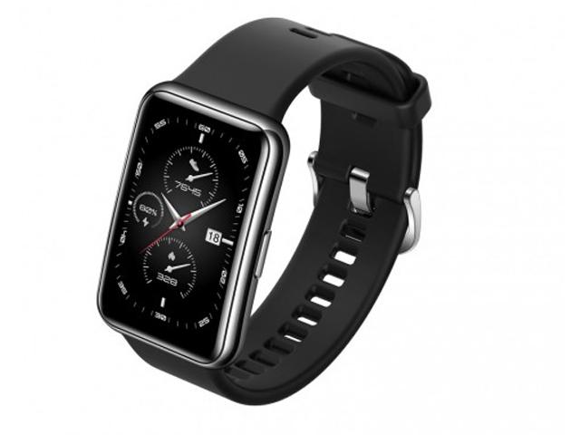 Умные часы Huawei Watch Fit Elegant Midnight Black 55026301 Выгодный набор + серт. 200Р!!!