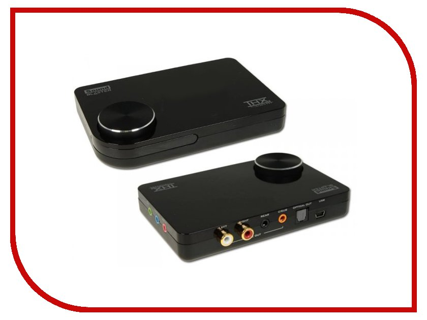 Звуковая карта Creative Sound Blaster X-Fi Surround 5.1 Pro SB1095 / 70SB109500007 звуковая карта creative sound blaster e5