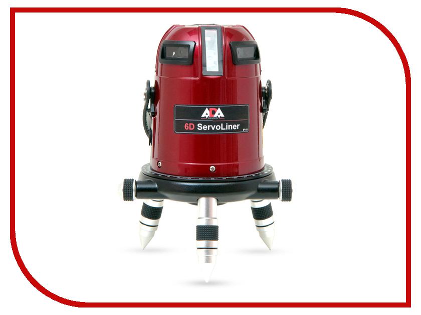 Нивелир ADA 6D Servoliner лазерный нивелир ada rotary 400 hv servo а00458