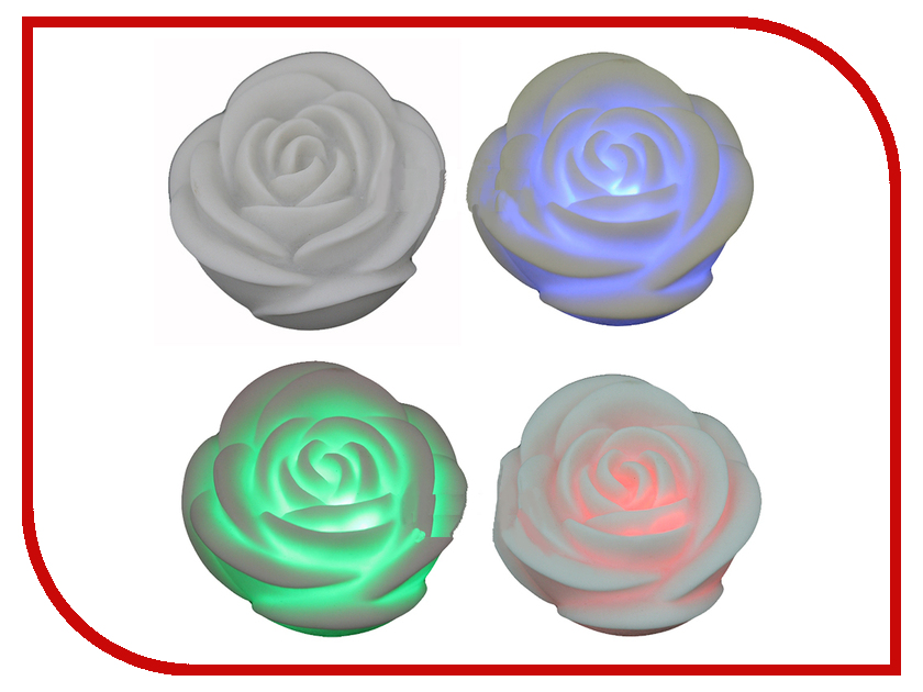 Светодиодная свеча 31 век Роза LL0106R<br>