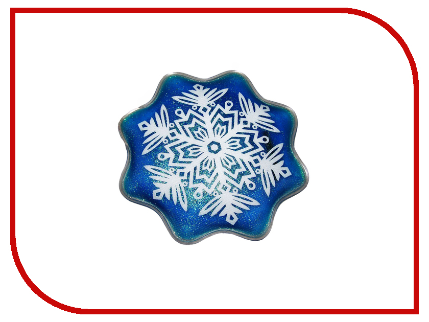 Солевая грелка Дельта-Терм Снежинка 150x150mm