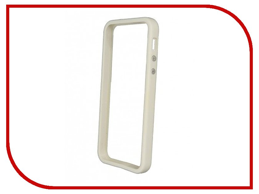 Аксессуар Чехол-бампер Clever EdgeFort Case for iPhone 5 White