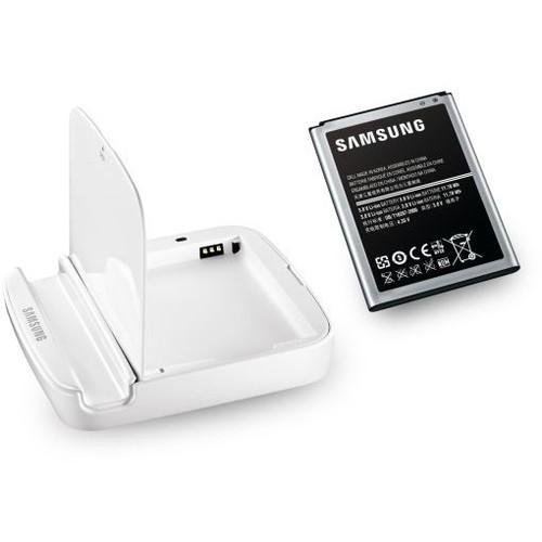 Аксессуар Зарядное устройство + аккумулятор Samsung N7100 Galaxy Note II White EB-H1J9VNEGSTD