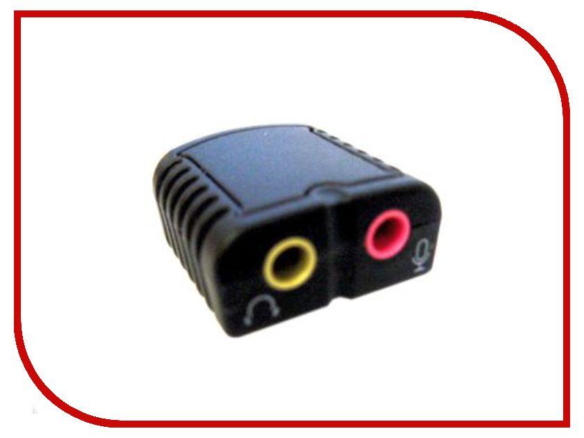 Звуковая карта Espada C-Media HS100 FG-UAU01A-1AB-CT21 / FG-UAU01A-1AB-BC21 звуковая карта espada c media hs100 fg uau01a 1ab ct21 fg uau01a 1ab bc21