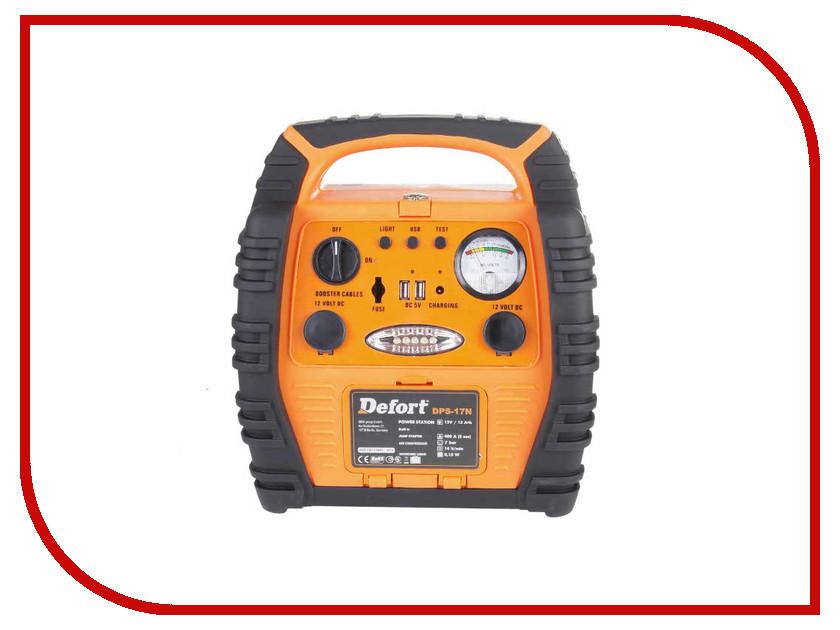 Зарядное устройство для автомобильных аккумуляторов Defort DPS-17N 93728083