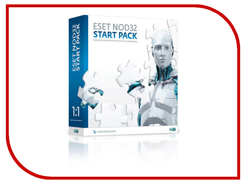 Программное обеспечение ESET NOD32 Start Pack NOD32-ASP-NS(BOX)-1-1