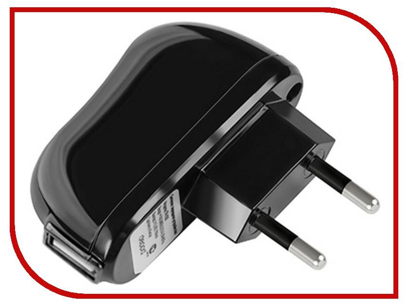 Зарядное устройство Зарядное устройство сетевое USB Deppa - 2100mA Black 23139 зарядное устройство activ usb 1000 ma black 15682