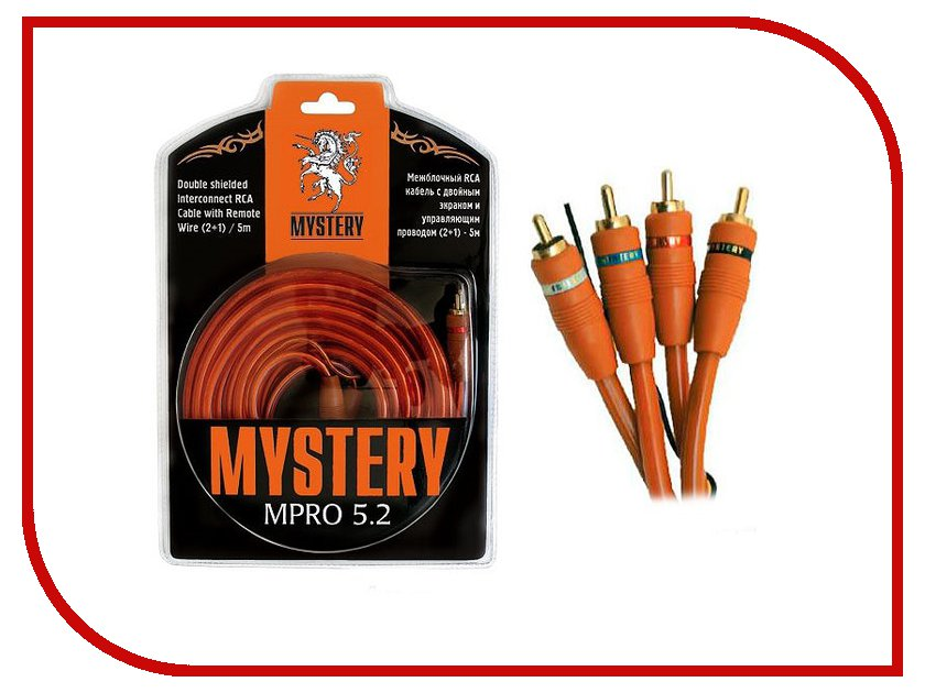 Аксессуар Mystery MPRO 5.2 mystery mmtd 9108s