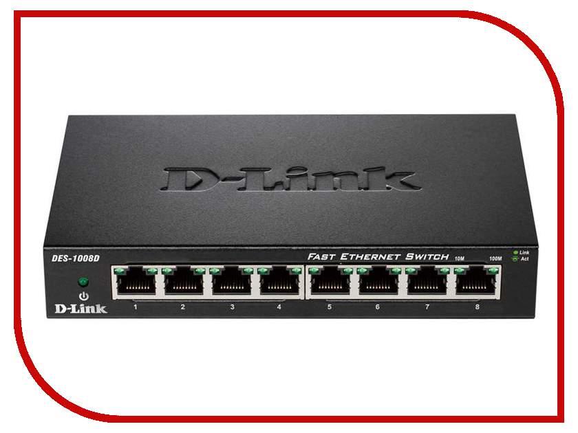 D-Link DES-1008D d link des 1026g