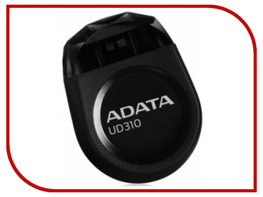 USB Flash Drive 16Gb - A-Data UD310 Black AUD310-16G-RBK program copy ch2015 usb high speed programmer msop8 to dip8 socket eeorom spi flash data flash