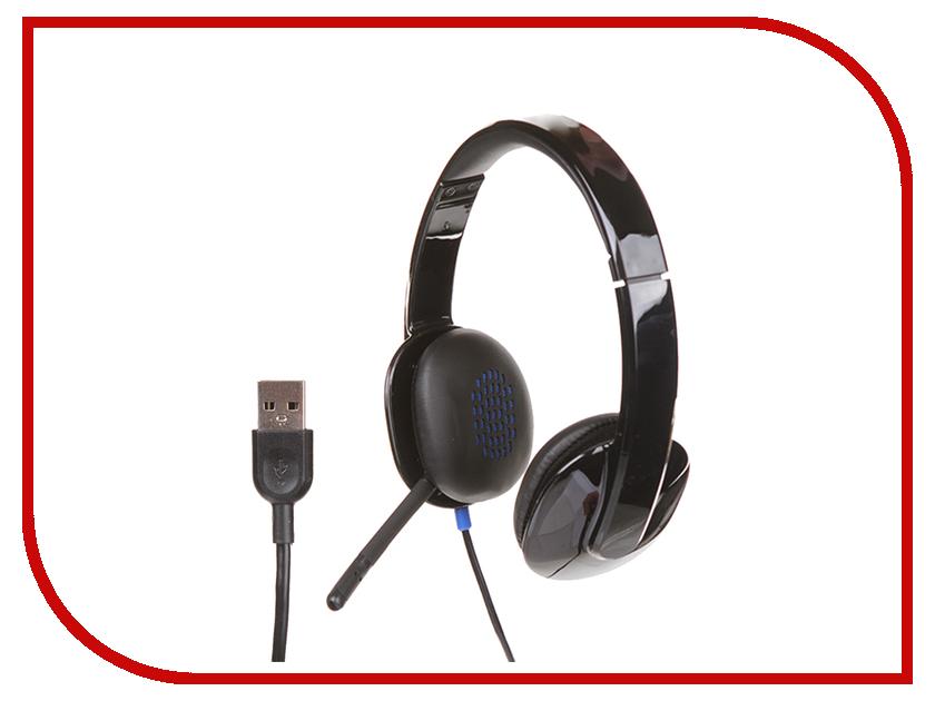 Гарнитура Logitech USB Headset H540 981-000480<br>