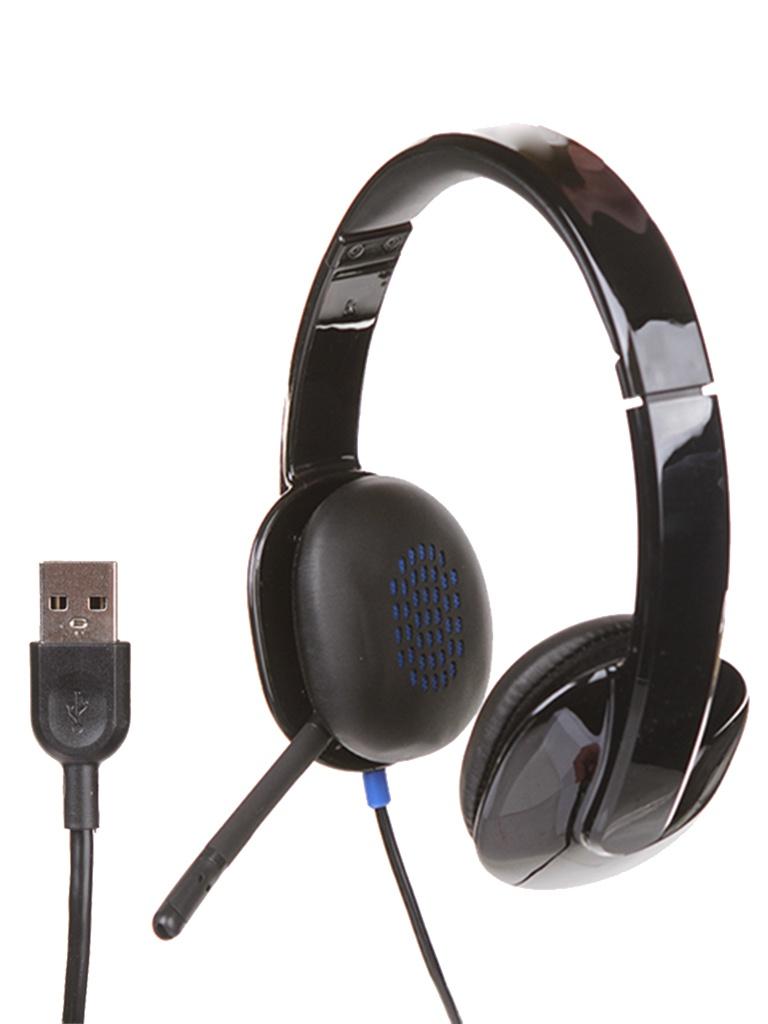 Logitech USB Headset H540 981-000480 logitech usb headset h540 981 000480