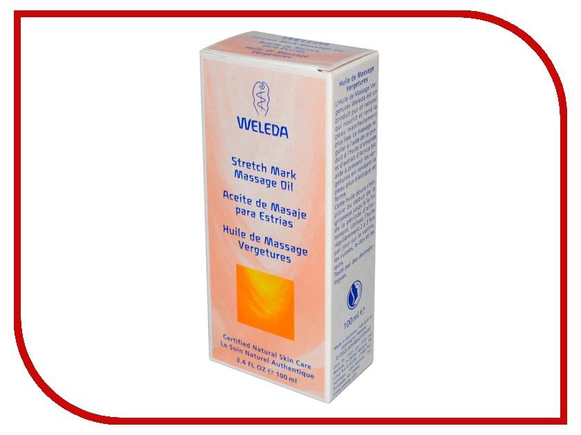 Средство для ухода за телом Weleda масло массажное для профилактики растяжек 100 мл 9511<br>