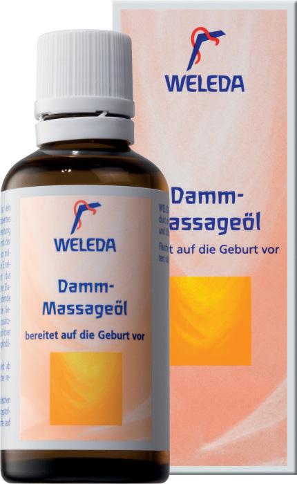 Средство для ухода за телом Weleda масло для подготовки интимной области к родам 9510