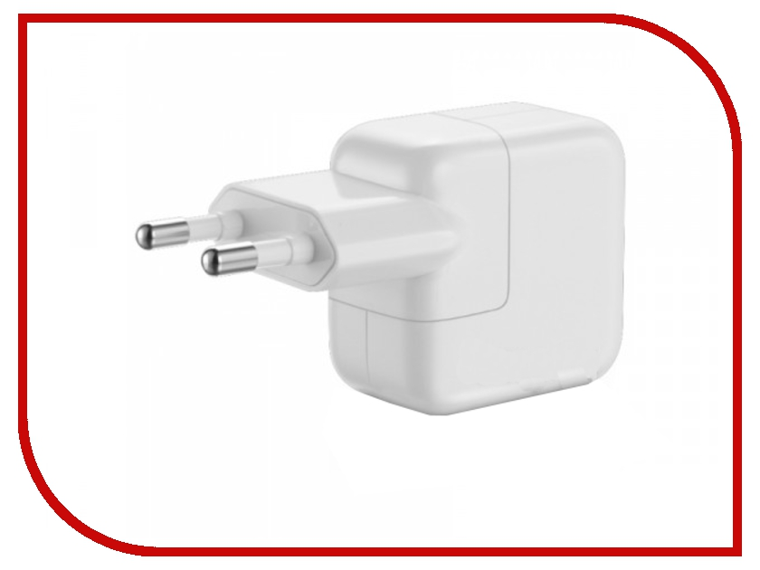 Аксессуар APPLE 12W USB Power Adapter для iPad MD836ZM/A зарядное устройство сетевое universal gator socket adapter grip with power drill adapter tool