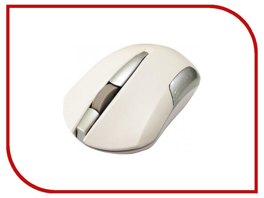 Мышь беспроводная CBR CM 422 White
