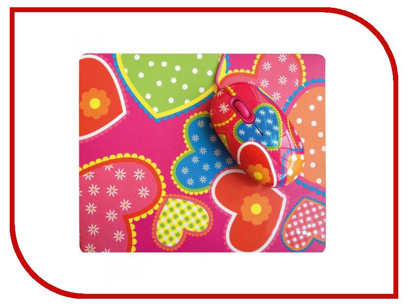 Мышь CBR Candy мышь сувенирная + коврик<br>