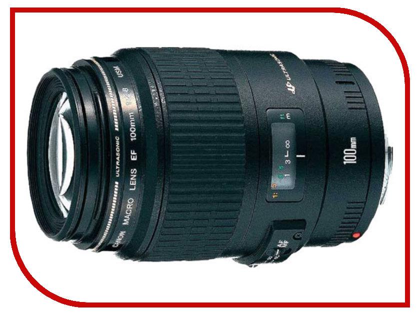 Объектив Canon EF 100mm f/2.8 Macro USM<br>