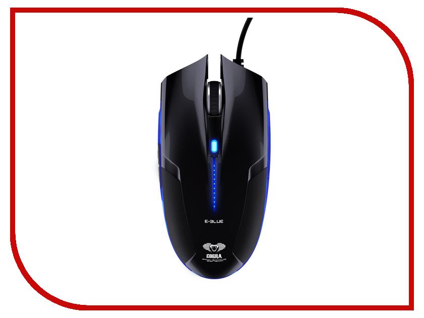 Мышь проводная E-Blue Cobra Black EMS108BK<br>