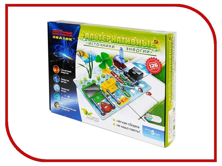 Игрушка Конструктор Знаток Альтернативные источники энергии 70096<br>