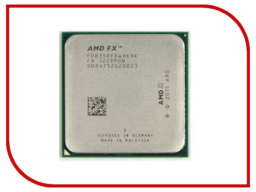 Процессор AMD FX-8350 Vishera OEM FD8350FRW8KHK (4000MHz/AM3+/L3 8192Kb) amd fx series fx 8300 fx8300 3 3 ghz eight core 8m processor socket am3 fd8300wmw8khk cpu 95w fx 8300