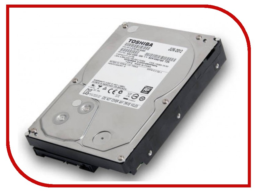 Жесткий диск 3Tb - Toshiba DT01ACA300 toshiba p300 hdwd130uzsva