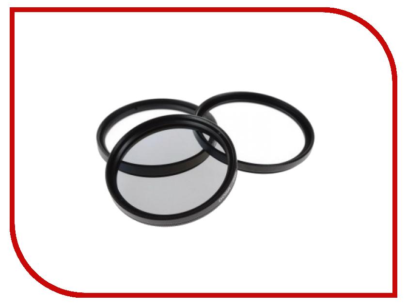 Светофильтр Doerr Digi Line Filter Kit UV/CPL/Close UP +4 55mm 378055<br>