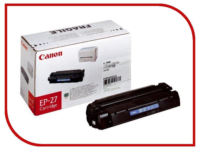 Картридж Canon EP-27 для LBP-3200/MF5630/MF5650/MF3110 8489A002<br>