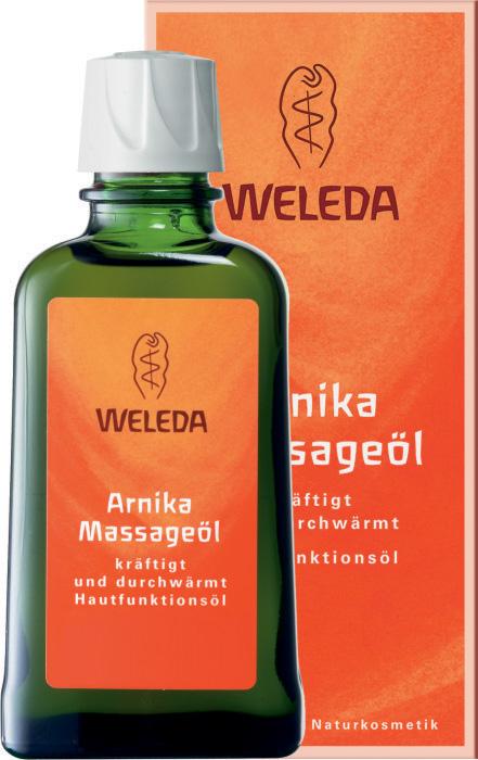 Средство для ухода за телом Weleda массажное масло с арникой 50 мл 9920
