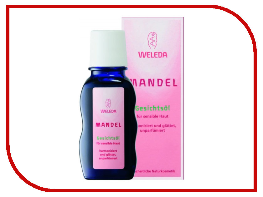 Средство для ухода за лицом Weleda деликатное миндальное масло 50 мл 8030 / 9361<br>