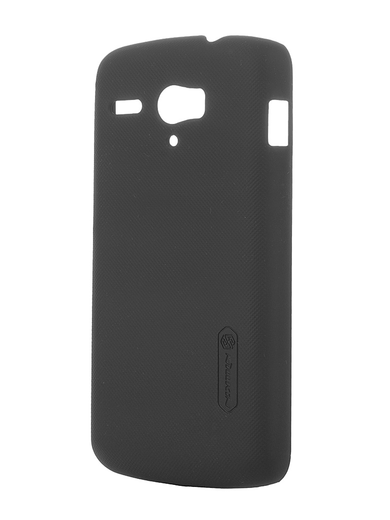 Аксессуар Чехол-накладка Huawei Ascend G500 Nillkin Super Frosted Shield Black