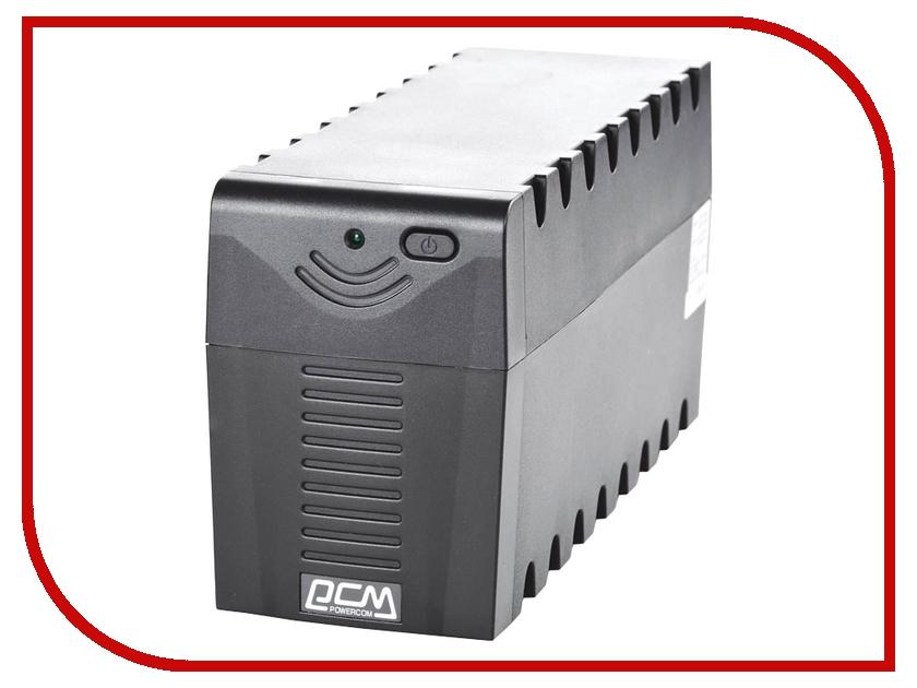 Источник бесперебойного питания Powercom Raptor 600AP SE01<br>