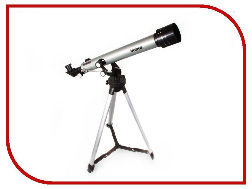 Телескоп Veber F70060TXII в кейсе телескоп veber polarstar 700 70 eq8