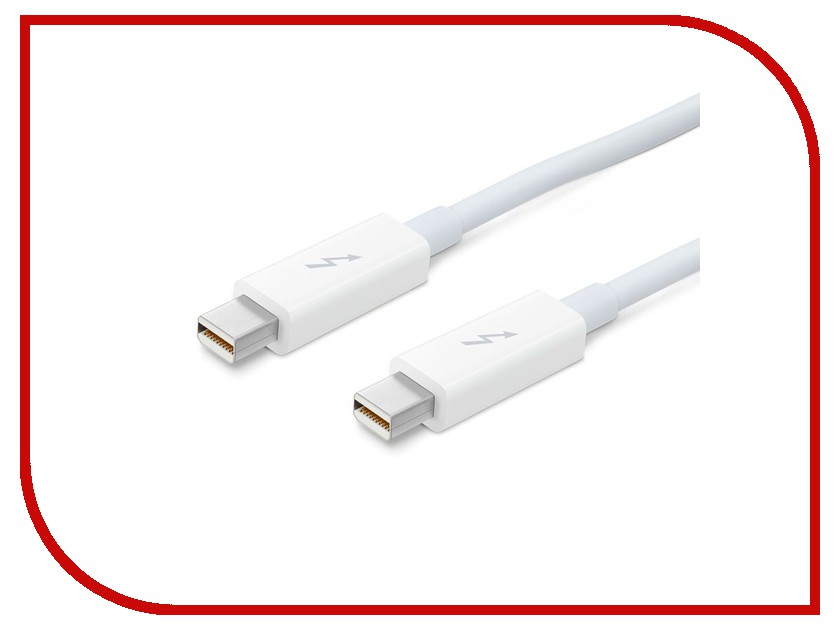 Аксессуар Кабель APPLE Thunderbolt cable 0.5m MD862ZM/A аксессуар кабель apple thunderbolt cable 2 0m md861zm a page 3