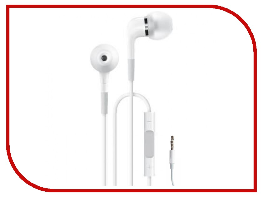 APPLE In-Ear Headphones with remote & mic ME186ZM/A / ME186ZM/B