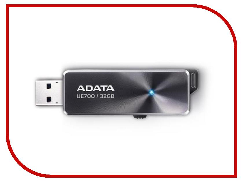 USB Flash Drive 32Gb - A-Data DashDrive Elite UE700 USB 3.0 AUE700-32G-CBK usb flash накопитель a data dashdrive elite ue700 64gb