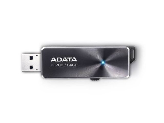все цены на USB Flash Drive 64Gb - A-Data DashDrive Elite UE700 USB 3.0 AUE700-64G-CBK онлайн