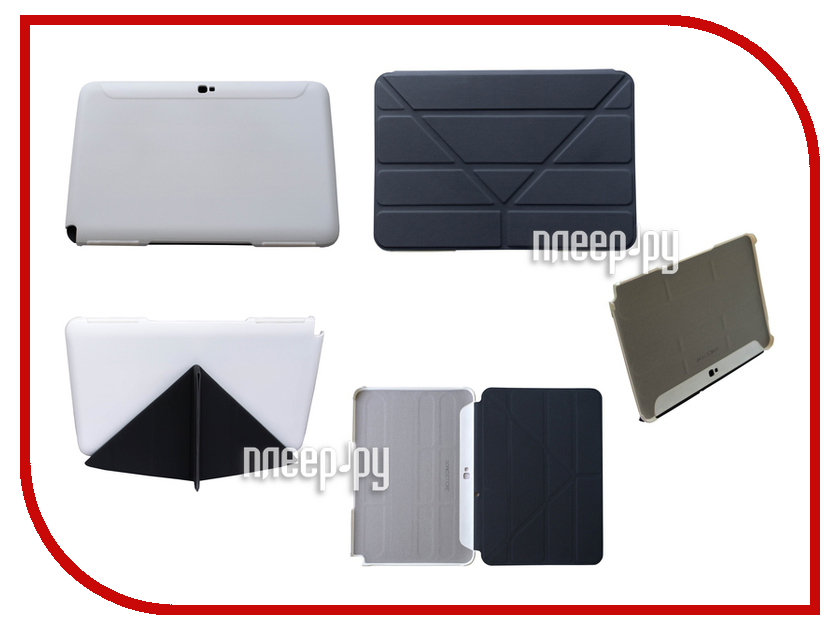 Аксессуар Чехол Galaxy Note 2 10.1 SonicSettore Seoul Slim Black 371022