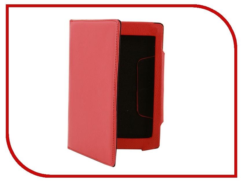 Аксессуар Чехол for Sony T2 SkinBox S-011 Red<br>