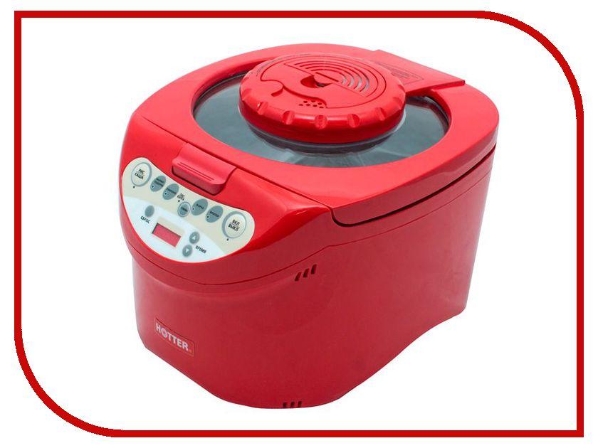 Мультиварка Multihotter HX-200-1 Red аэрогриль hotter hx 1047 universal в минске