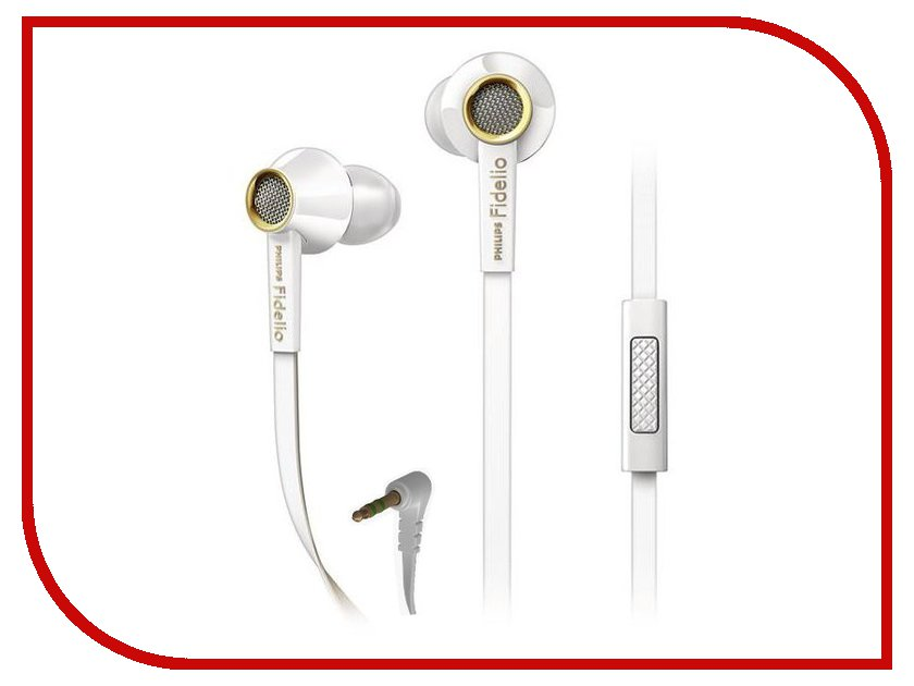 Гарнитура Philips Fidelio S2 White<br>